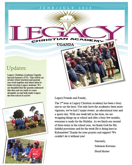 Legacy Sept Update