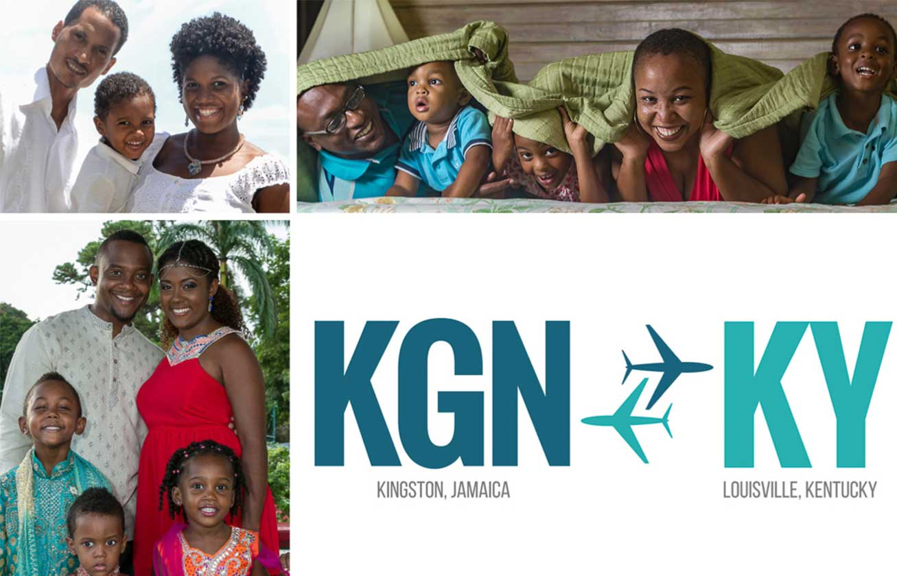 Sheldon Campbell, Joel Bain, And Sean Taylor Along With Their Wives And  Children Plan To Move From Kingston, Jamaica In A Couple