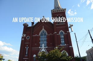 Update On Our Shared Mission - New Site Blog Post Featured Image