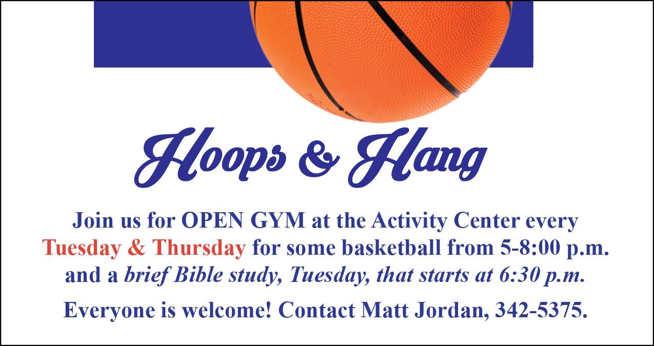 Hoops & Hang at the Activity Center