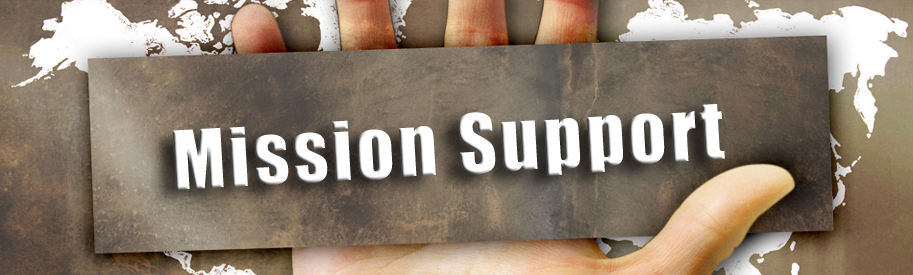 Mission Support banner
