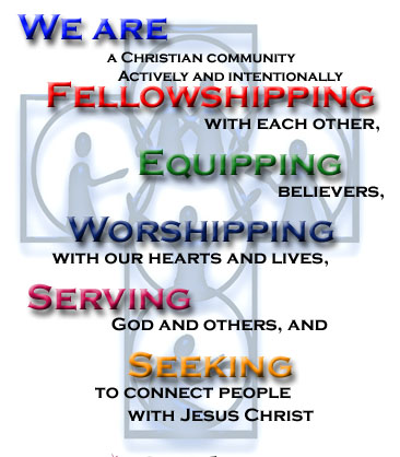 core values poster blue