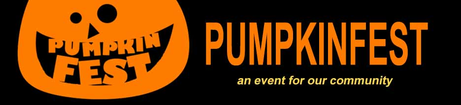 PUMPKINFEST! Join us and take part!  banner