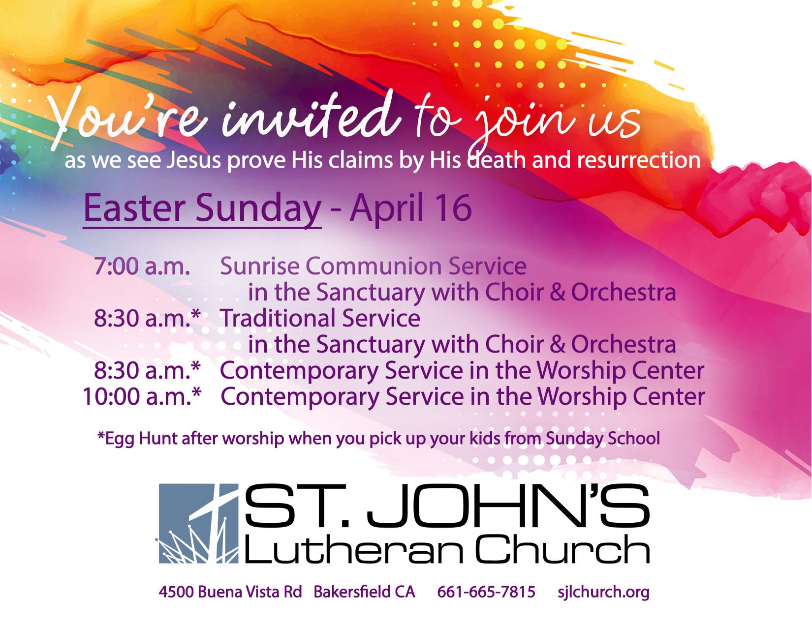 Holy Week 2017 - invite Easter only