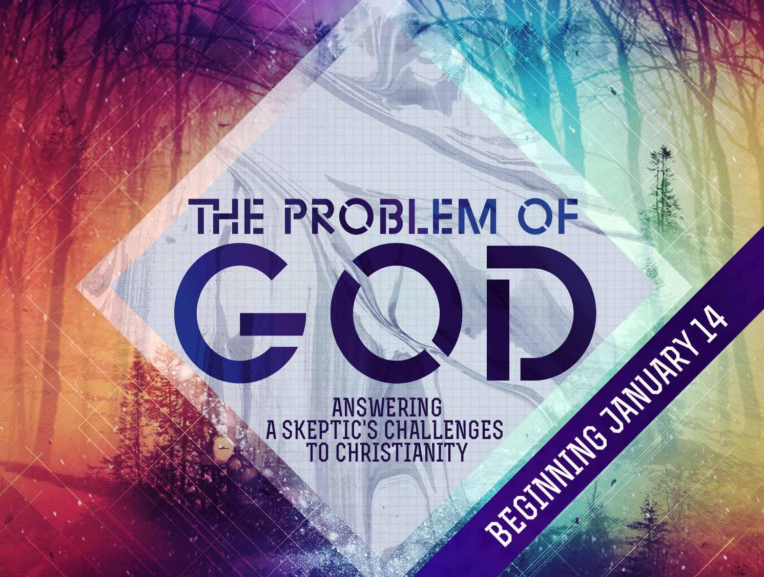 The Problem of God banner
