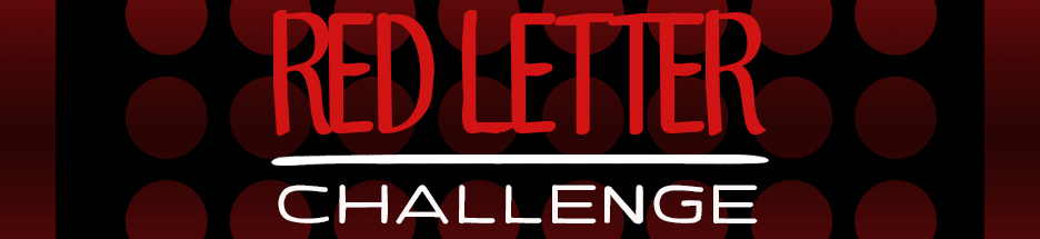 Week 1: The Red Letter Challenge banner