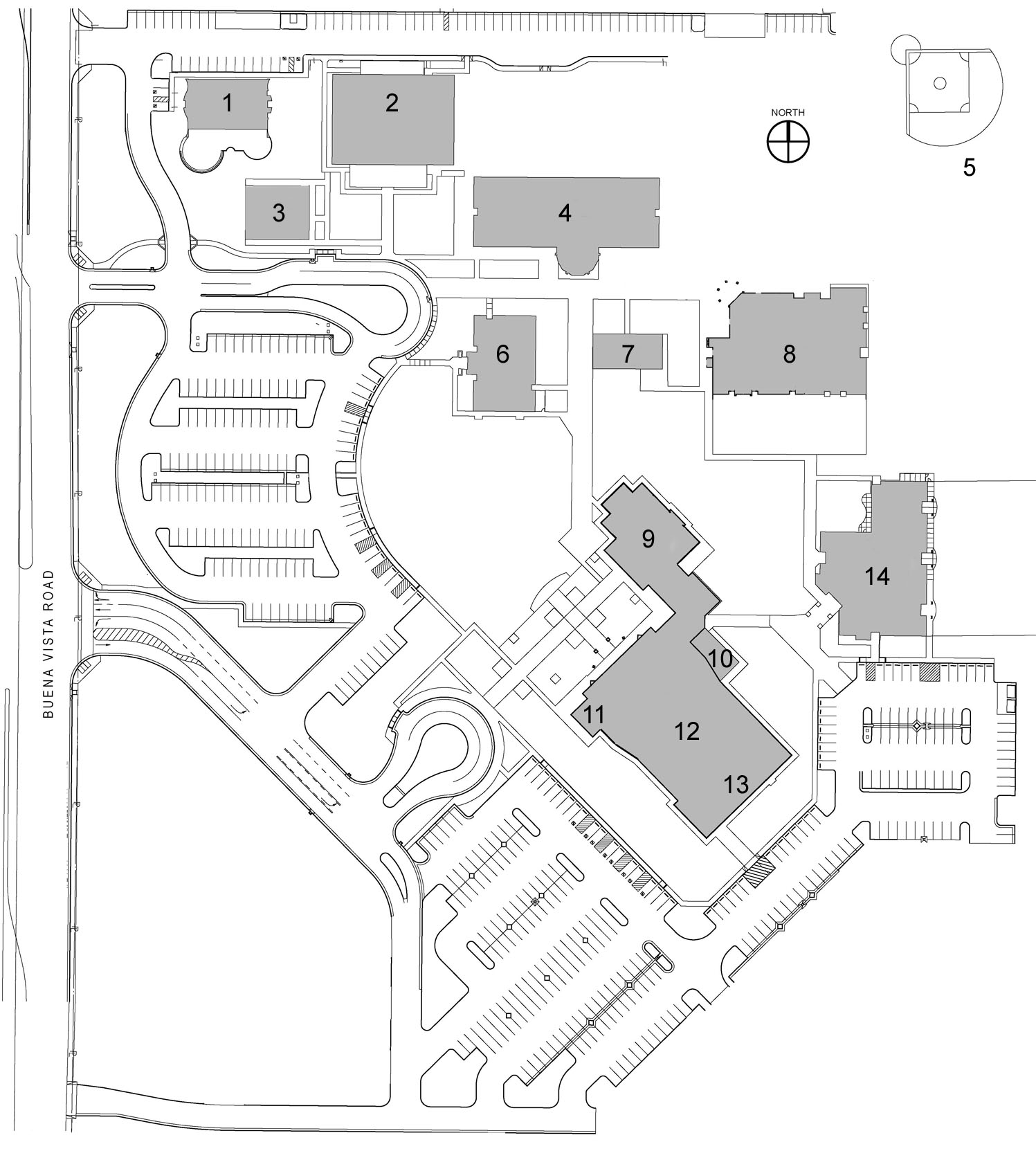 SJLC Site Plan_101612_numbered