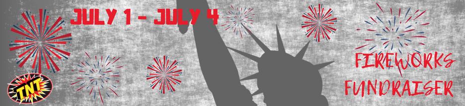SSM Fireworks Fundraiser banner