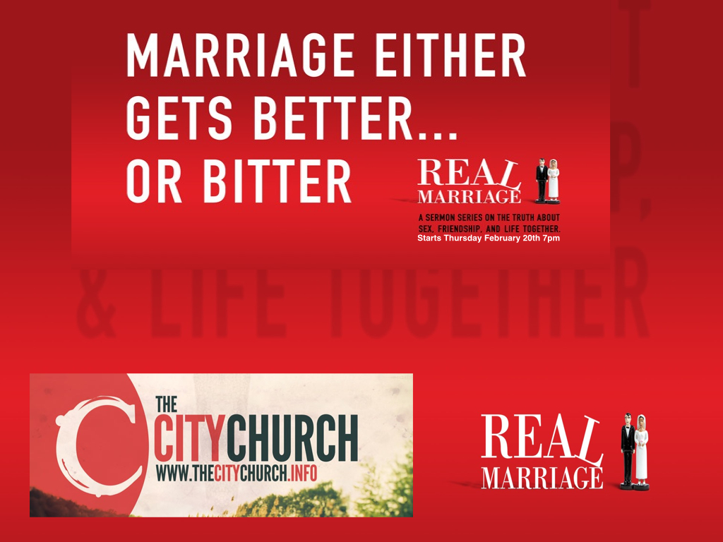 Real Marriage Real Talk Real Marriage a Sermon Series