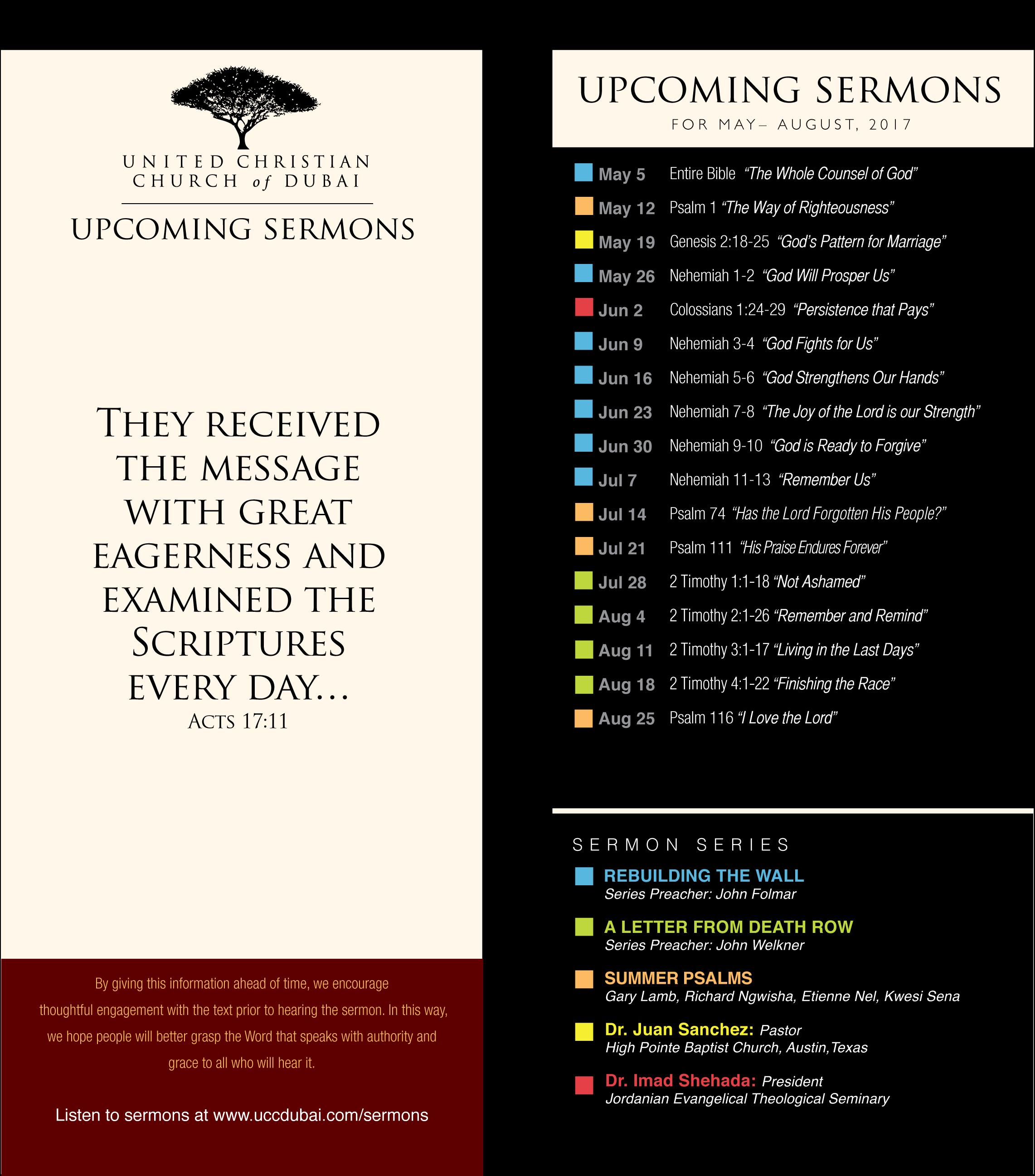 Sermon Card Summer 2017_black