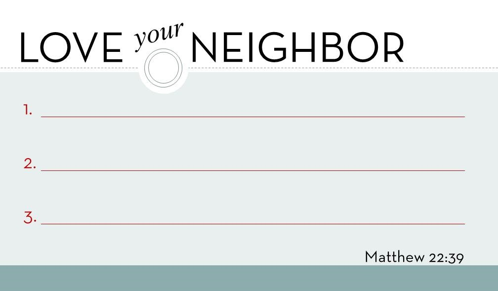 love your neighbor FRONT