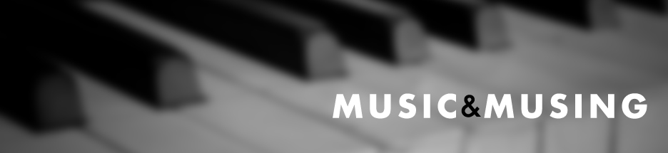 Music and Musing: Worship Blog banner