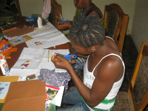 Skills Training- card making