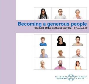 Becoming a generous people cover