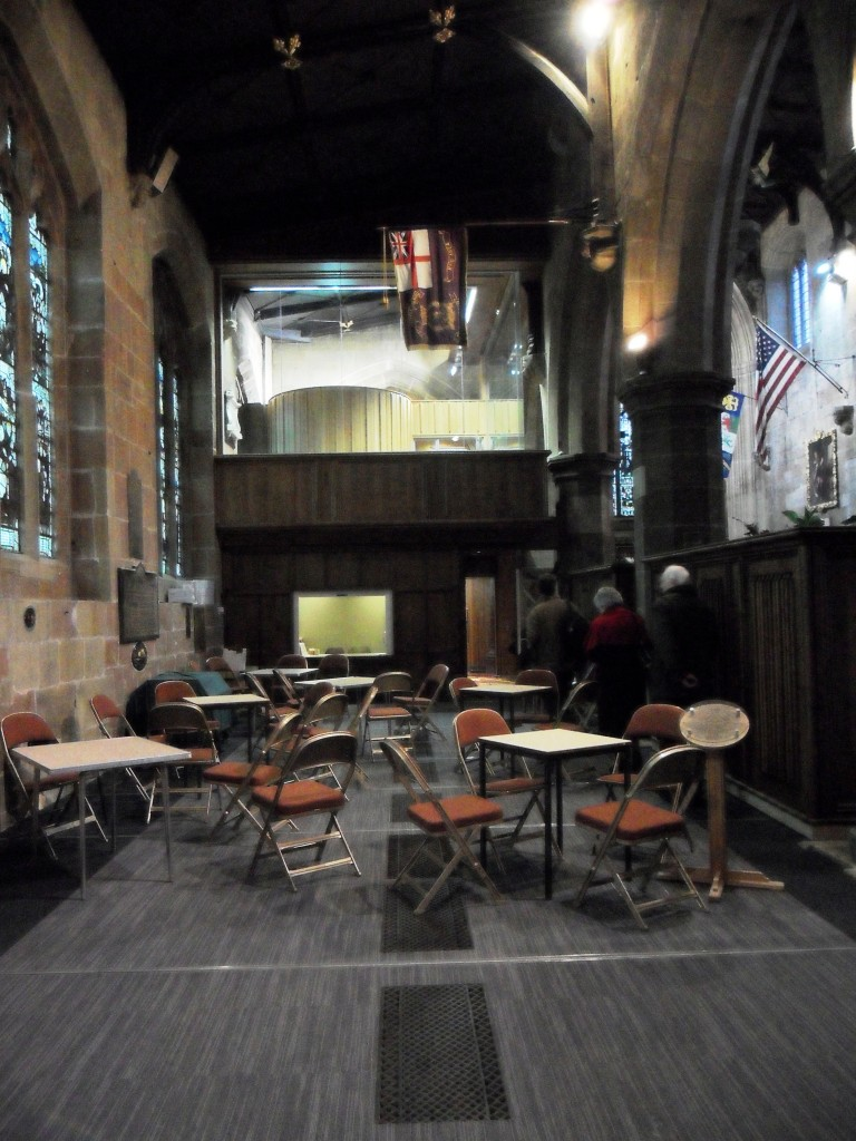 St Giles' Cafe Area