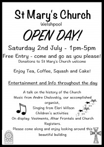 church open day