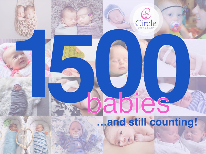 Circle Surrogacy announces baby 1500