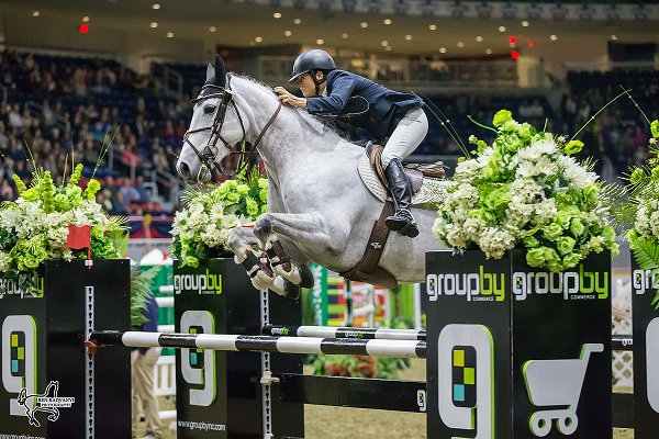 Royal Agricultural Winter Fair-American Leslie Howard Wins at Ro