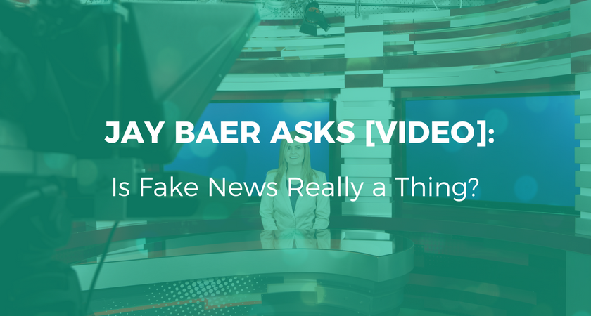 Jay Bear- Is Fake News Really a Thing