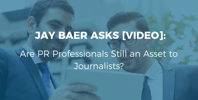 Are PR Professionals Still an Asset to Journalists?