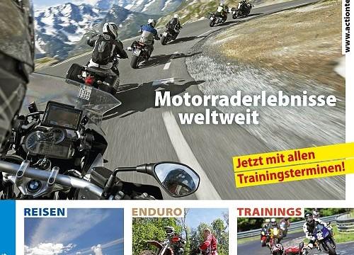 Motor Presse Stuttgart mit Jahresprogrammheft Action Team