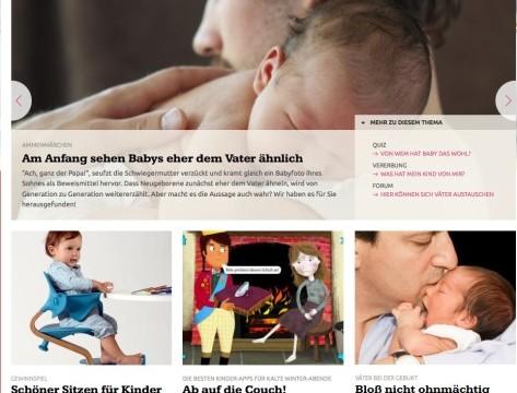 Relaunch der Websites ELTERN.de und URBIA.de