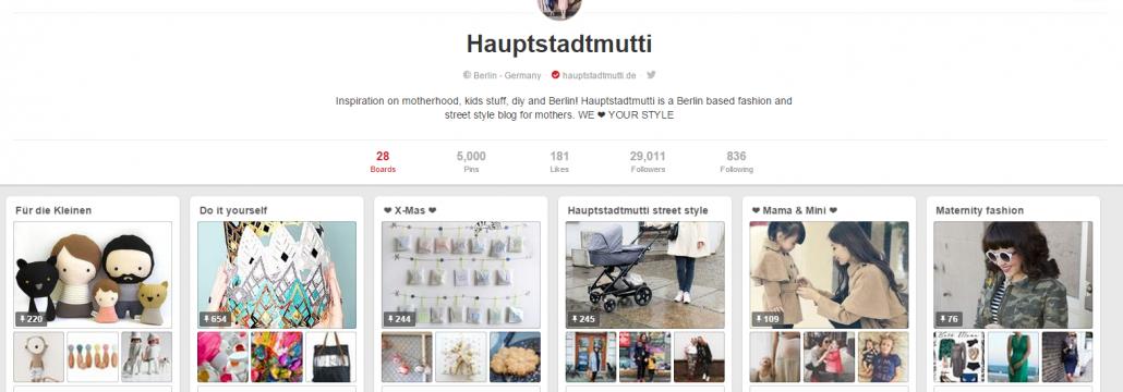 Mode - Die Top 10 deutschen Blogs auf Pinterest