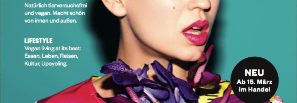 Neues Magazin Noveaux für vegane Mode