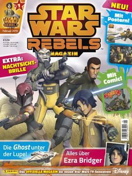 Panini mit neuer Zeitschrift Star Wars Rebels