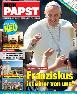 Panini bringt neue Zeitschrift Mein Papst