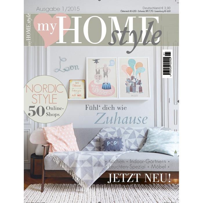neue zeitschrift my homestyle ab sofort erh ltlich cision. Black Bedroom Furniture Sets. Home Design Ideas