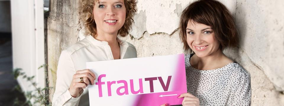 Lisa Ortgies moderiert frauTV im Wechsel mit Sabine Heinrich