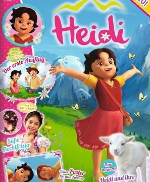 Heidi-Magazin kommt ans Kiosk
