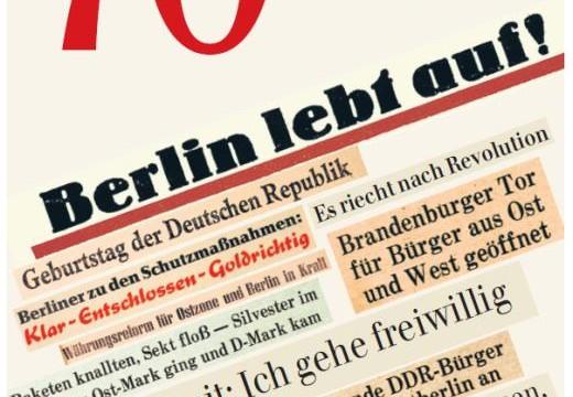 Jubiläumsausgabe zum Geburtstag der Berliner Zeitung
