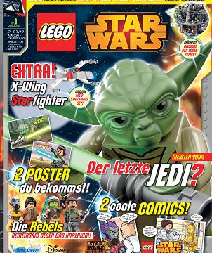 LEGO® STAR WARS™ Magazin kommt ans Kiosk