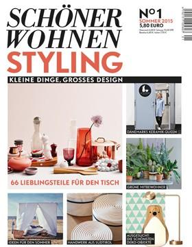 Neues Magazin SCHÖNER WOHNEN STYLING