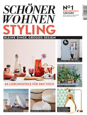 neues magazin sch ner wohnen styling cision. Black Bedroom Furniture Sets. Home Design Ideas