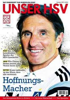 Hamburger Morgenpost bringt Sonderheft Unser HSV