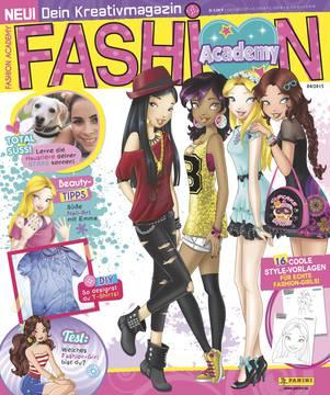 Panini veröffentlicht Fashion Academy – Dein Kreativmagazin