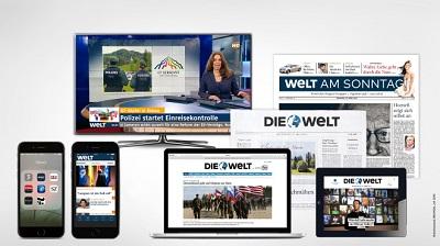 WELT-Gruppe und N24 führen Markendach WELT ein