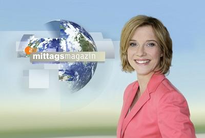 Christina von Ungern-Sternberg moderiert ZDF-Mittagsmagazin