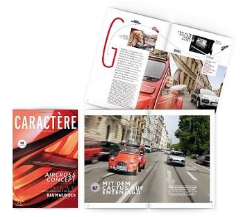 Citroën präsentiert sein neues Markenmagazin nach Relaunch