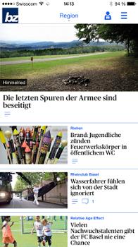 Neue News- und E-Paper Apps der az Nordwestschweiz