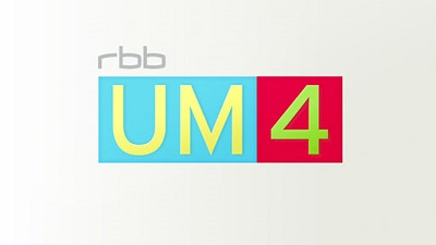 Neues Format rbb UM4 mit mobilem Studio