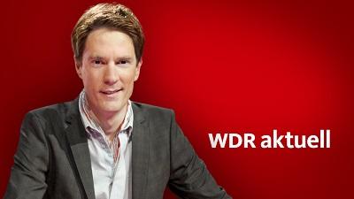 Sven Lorig moderiert WDR aktuell