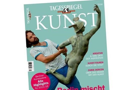 Tagesspiegel bringt neues Kunst-Magazin heraus