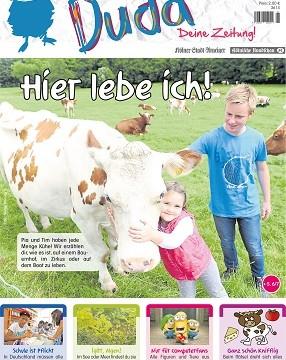 Neue Kinderzeitung Duda aus dem Medienhaus DuMont Rheinland