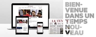 Relaunch der Print- und Online-Ausgabe der Le Temps