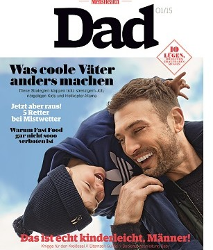 Men's Health Dad kommt am 14. Oktober
