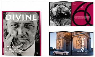 DS Automobiles und Agentur C3 legen Magazin Divine vor